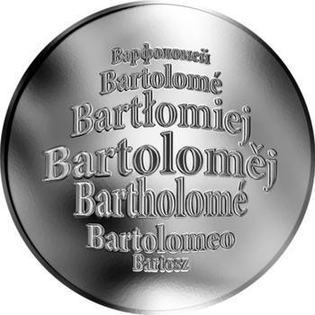 Česká jména - Bartoloměj - stříbrná medaile - 1