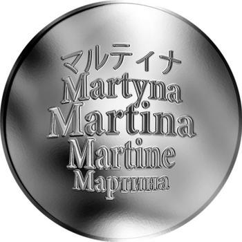 Česká jména - Martina - stříbrná medaile - 1