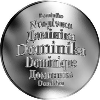 Česká jména - Dominika - stříbrná medaile - 1