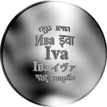 Česká jména - Iva - stříbrná medaile - 1