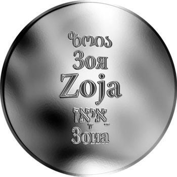 Česká jména - Zoja - stříbrná medaile - 1
