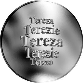 Česká jména - Tereza - stříbrná medaile - 1