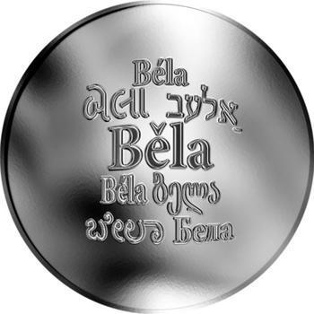 Česká jména - Běla - stříbrná medaile - 1