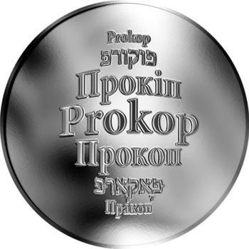 Česká jména - Prokop - stříbrná medaile - 1