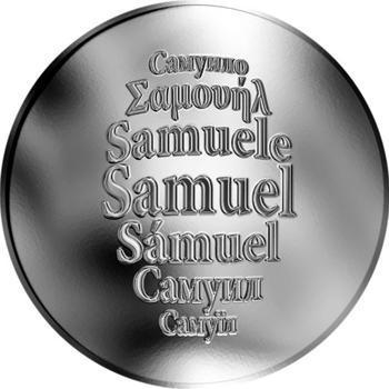 Česká jména - Samuel - stříbrná medaile - 1