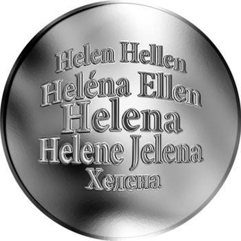 Česká jména - Helena - stříbrná medaile - 1