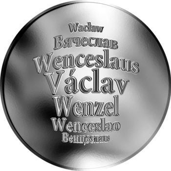 Česká jména - Václav - stříbrná medaile - 1