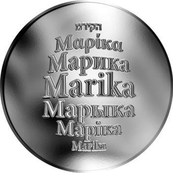 Česká jména - Marika - stříbrná medaile - 1