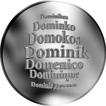 Česká jména - Dominik - stříbrná medaile - 1