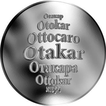 Česká jména - Otakar - stříbrná medaile - 1