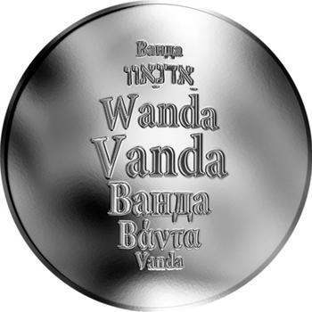 Česká jména - Vanda - stříbrná medaile - 1