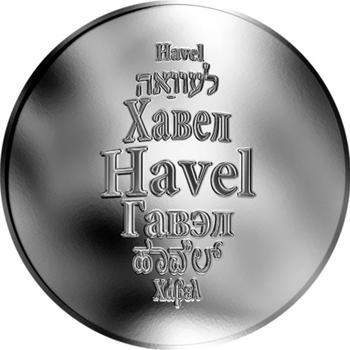 Česká jména - Havel - stříbrná medaile - 1