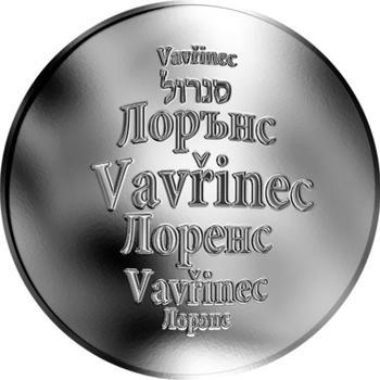 Česká jména - Vavřinec - stříbrná medaile - 1