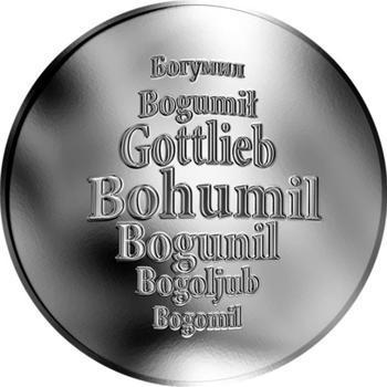 Česká jména - Bohumil - stříbrná medaile - 1