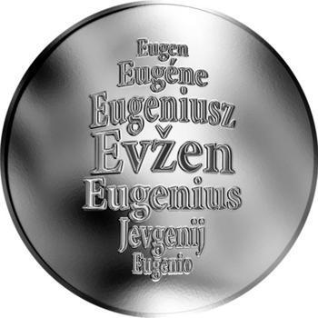 Česká jména - Evžen - stříbrná medaile - 1