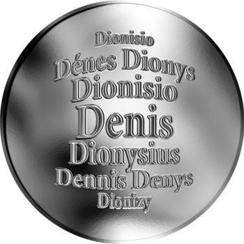 Česká jména - Denis - stříbrná medaile - 1