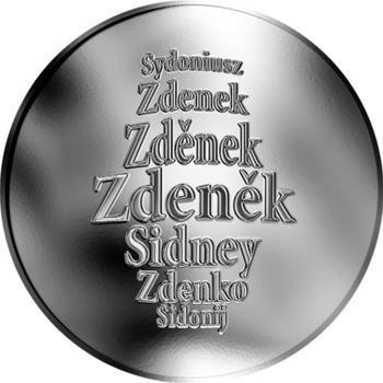 Česká jména - Zdeněk - stříbrná medaile - 1