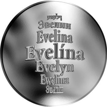 Česká jména - Evelína - stříbrná medaile - 1