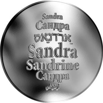 Česká jména - Sandra - stříbrná medaile - 1