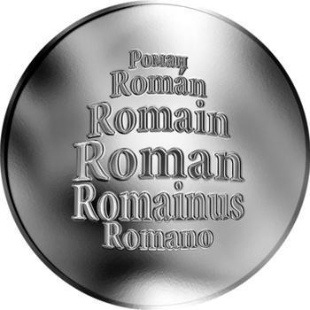 Česká jména - Roman - stříbrná medaile - 1