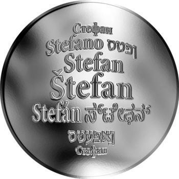 Česká jména - Štefan - stříbrná medaile - 1