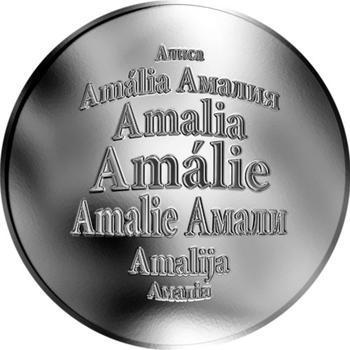 Česká jména - Amálie - stříbrná medaile - 1