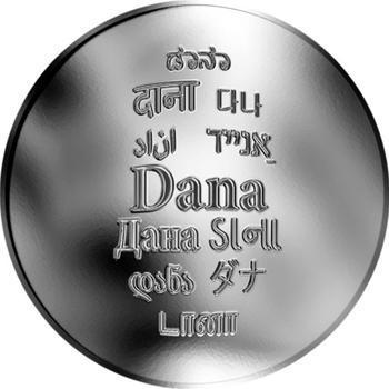 Česká jména - Dana - stříbrná medaile - 1
