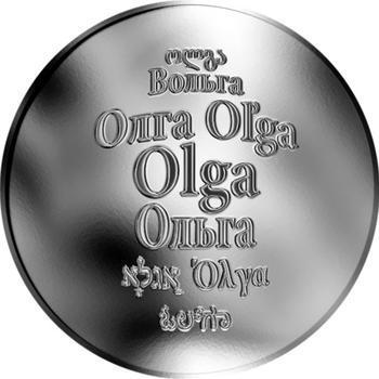 Česká jména - Olga - stříbrná medaile - 1
