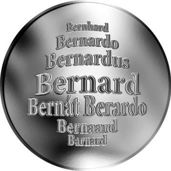 Česká jména - Bernard - stříbrná medaile - 1