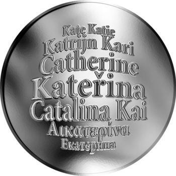 Česká jména - Kateřina - stříbrná medaile - 1
