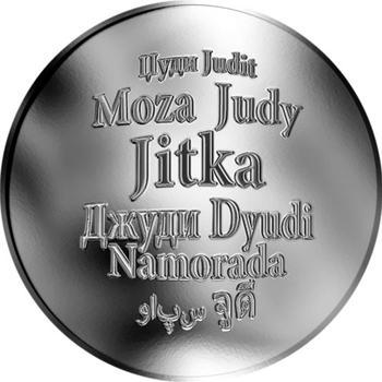 Česká jména - Jitka - stříbrná medaile - 1