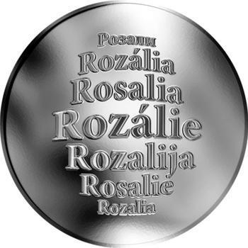 Česká jména - Rozálie - stříbrná medaile - 1