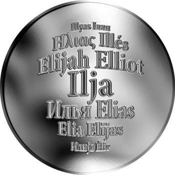 Česká jména - Ilja - stříbrná medaile - 1