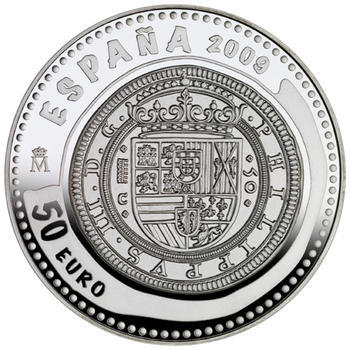 2009 Jewels of Numismatics - Cincuentín 1609 Ag Proof - 1