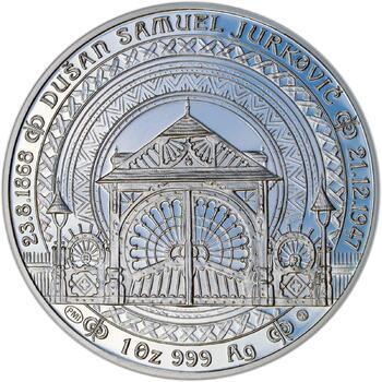 Dušan Samuel Jurkovič ( 60 let od jeho úmrtí ) - stříbro Proof - 1