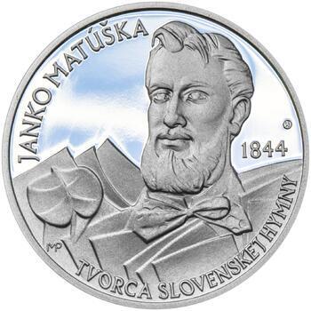 Nad Tatrou sa blýska - 1 Oz stříbro Proof - 1