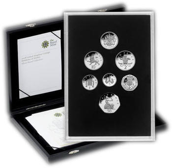 2008 Emblems of Britain Silver Proof Set - 1