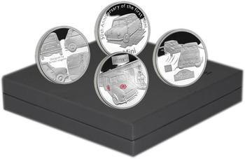 2009 4 Coin Set - 50th Ann. of the Mini  Ag Proof