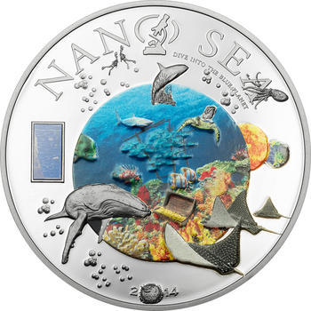 2014 Cook Island - Nano Sea - Ag Proof - 1