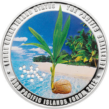 2012 Cook Island - Pacific Islands Forum Proof - 1