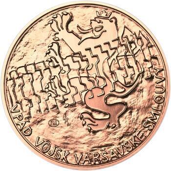 Vpád vojsk Varšavské smlouvy - 21. srpen 1968 -  1 Oz Měď b.k. - 1