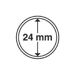 Plastové kapsle na mince CAPS 24 - 1