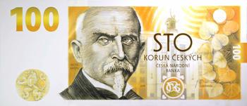 Pamětní bankovka 100 Kč - 2019 Alois Rašín - 1