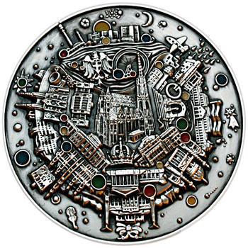 Wien medaile postříbřená