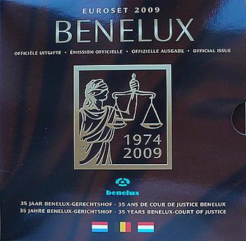 Sada mincí Benelux 2009 Unc.