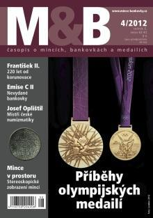 časopis Mince a bankovky č.4 rok 2012