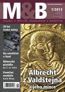časopis Mince a bankovky č.1 rok 2013