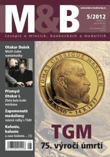 časopis Mince a bankovky č.5 rok 2012