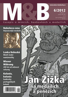 časopis Mince a bankovky č.6 rok 2012