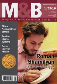 časopis Mince a bankovky č.1 rok 2016